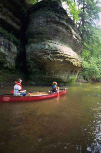 Canoeing the Kickapoo River