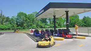 Go Karts at Prairie Funland