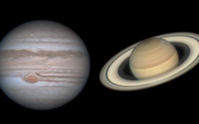 Driftless Dark Skies: Jupiter and Saturn